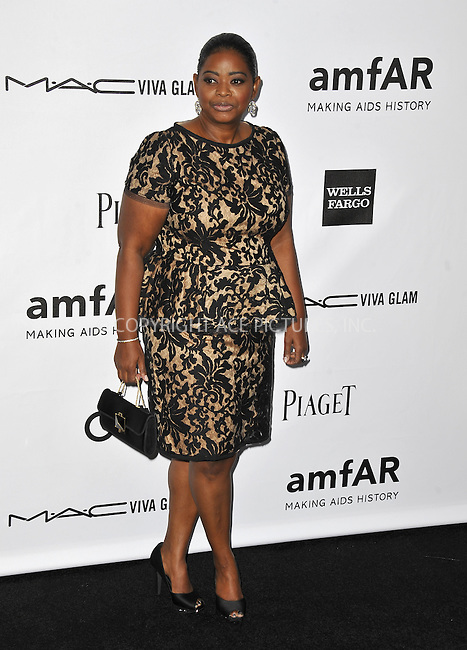 WWW.ACEPIXS.COM....October 11 2012, LA ....Octavia Spencer arriving at the amfAR 3rd Annual Inspiration Gala at Milk Studios on October 11, 2012 in Los Angeles, California. ......By Line: Peter West/ACE Pictures......ACE Pictures, Inc...tel: 646 769 0430..Email: info@acepixs.com..www.acepixs.com