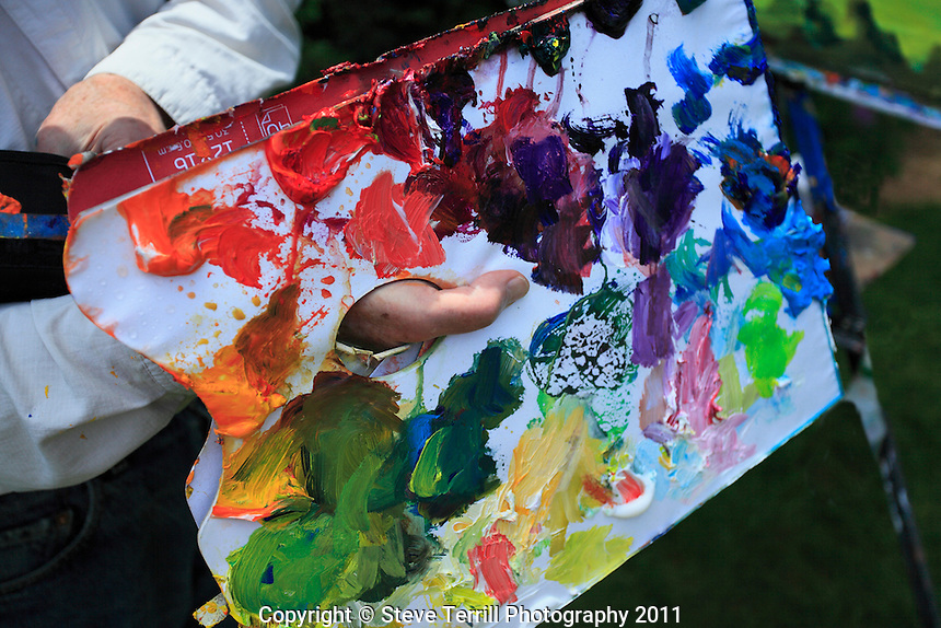 Painters palette board