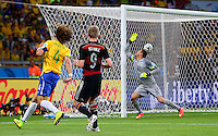 Andre Schurrle of Germany scores a goal to make the score 7-0