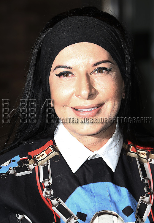 Marina Abramovic attends the Glamour 2013 Woman Of The Year Awards at Carnegie Hall on November 11, 2013 in New York City.