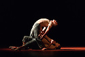 Sadler's Wells presents Natalia Osipova in a triple bill of specially commissioned dance works, by her, from choreographers Sidi Larbi Cherkaoui, Russell Maliphant and Arthur Pita.  The piece shown is:  Qutb, by  Sidi Larbi Cherkaoui. The picture shows:  Jason Kittelberger, James O'Hara, Natalia Osipova