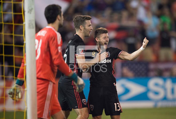 Washington, DC - September 23, 2017: D.C. United defeated the San Jose Earthquakes 4-0 during a Major League Soccer (MLS) match at RFK Stadium.