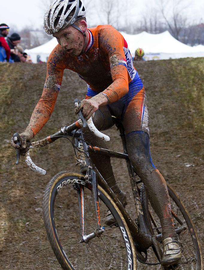 Dutchman Mike Teunissen, under-23 world cyclocross champion, 2013 World Cyclocross Championships, Louisville, Kentucky.