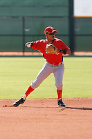 Humberto Valor - Cincinnati Reds, 2009 Instructional League.Photo by:  Bill Mitchell/Four Seam Images..