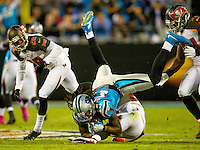 Carolina Panthers v. The Tampa Bay Buccaneers at Bank of America Stadium in Charlotte, Nc.<br /> <br /> Charlotte Photographer - PatrickSchneiderPhoto.com