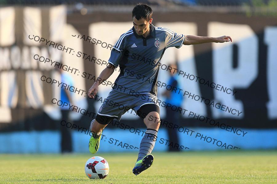 Fudbal Jelen Super League season 2014-2015<br /> Vozdovac v Partizan<br /> Branko Ilic<br /> Beograd, 08.10.2014.<br /> foto: Srdjan Stevanovic/Starsportphoto&copy;