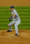8 September 2006: Brett Campbell, pitcher for the Washington Nationals, on the mound against the Colorado Rockies. The Rockies defeated the Nationals 10-5 in a rain-delayed game at Coors Field in Denver, Colorado. ..Mandatory Photo Credit: Ed Wolfstein..