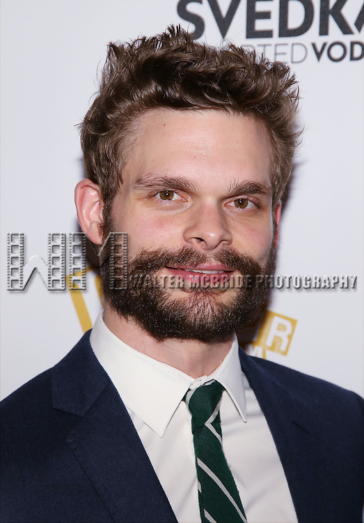 Andrew Durand attends 'The Robber Bridegroom' Off-Broadway Opening Night performance press reception at Laura Pels Theatre on March 13, 2016 in New York City.