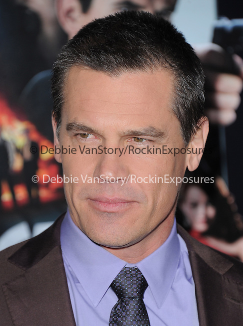 Josh Brolin at Warner Bros Pictures' L.A. Premiere of Gangster Squad held aat The Grauman's Chinese Theater in Hollywood, California on January 07,2013                                                                   Copyright 2013 Hollywood Press Agency
