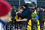 David O'Leary Dr. Crokes players and supporters celebrate defeating Corofin in the Semi Final of the Senior Football Club Championship at the Gaelic Grounds, Limerick on Saturday.
