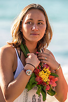 Namotu Island, Fiji (Saturday, May 30, 2015) Carissa Moore (HAW). - The world&rsquo;s best female surfers have arrived in the remote South Pacific for the fifth stop of the 2015  WSL Championship Tour (CT), the Fiji Women&rsquo;s Pro, scheduled from May 31 - June 5, 2015.<br /> The Top 17 were welcomed today on the island of Tavarua with a traditional Kava Ceremony.<br /> The event will be held at the world-class reef passes of Cloudbreak and Restaurants on the best days of surf during the waiting period.<br /> Two-time World Champion Carissa Moore (HAW) heads into the event as World No. 1  following sensational run of form in 2015, claiming back-to-back wins at the opening events of the year on the Gold Coast and at Bells Beach as well as a 2nd and a 3rd in Margaret River and Rio de Janeiro respectively. <br /> Moore will face wildcard and reigning WSL Women&rsquo;s Junior Champion, Mahina Maeda (HAW), in Round 1 along with Dimity Stoyle (AUS), who knocked Moore out in the Quarterfinals in Fiji last year. Photo: joliphotos.com