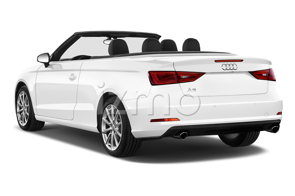 Car pictures of rear three quarter view of 2015 Audi A3 2.0T quattro S tronic Premium 2 Door Convertible angular rear
