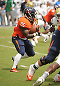 Virginia Cavaliers Kevin Parks (25) during a game against the UCLA Bruins on August 30, 2014 at Scott Stadium in Charlottesville, VA. UCLA beat Virginia 28-20.