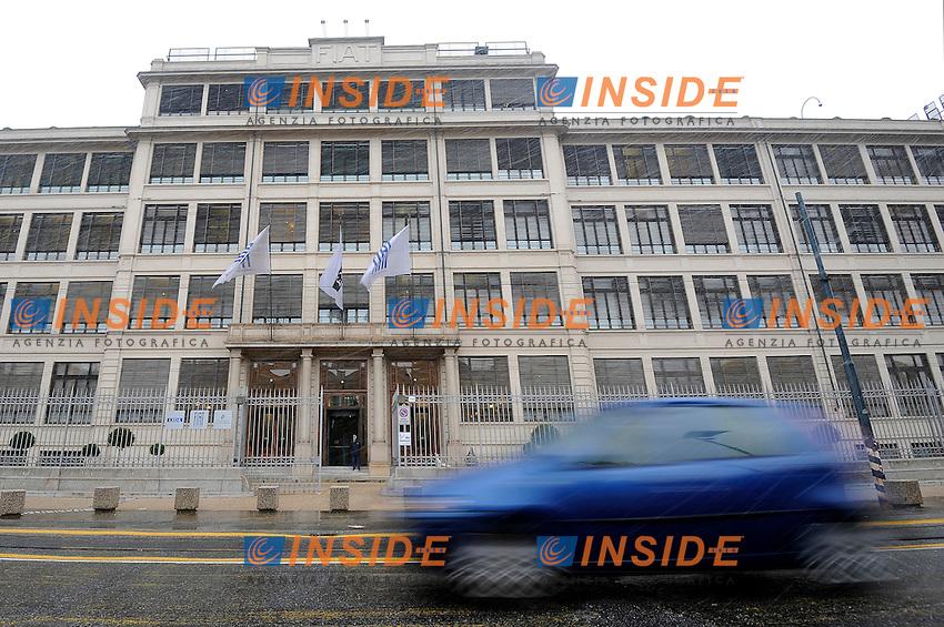 The historical Fiat group head office Lingotto. Torino 29/01/2014 <br /> Foto Giorgio Perottino / Insidefoto