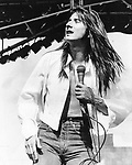 Journey 1980 Steve Perry.© Chris Walter.
