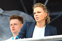 GB Olympic Gold medalist Kate Richardson Walsh during the Hockey World League Quarter-Final match between Argentina and Pakistan at the Olympic Park, London, England on 22 June 2017. Photo by Steve McCarthy.