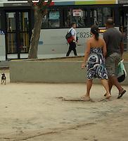 Rio de Janeiro (RJ) 22.09.2012. Praça Saiqui /Movimentação<br />Movimentação na Praça Saiqui no Bairro de Vila Valqueire, Zona Oeste do Rio de Janeiro. Foto: Arion Marinho/  Brazil Photo Press