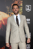 LOS ANGELES, CA - NOVEMBER 13: Zachary Levi, at the Justice League film Premiere on November 13, 2017 at the Dolby Theatre in Los Angeles, California. <br /> CAP/MPI/FS<br /> &copy;FS/MPI/Capital Pictures