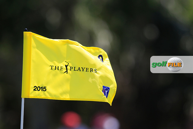 The Players Flag during the final round of The Players, TPC Sawgrass, Ponte Vedra Beach, Florida, United States. 10/05/2015<br /> Picture Fran Caffrey, www.golffile.ie
