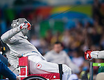 Wheelchair Fencing - Rio 2016