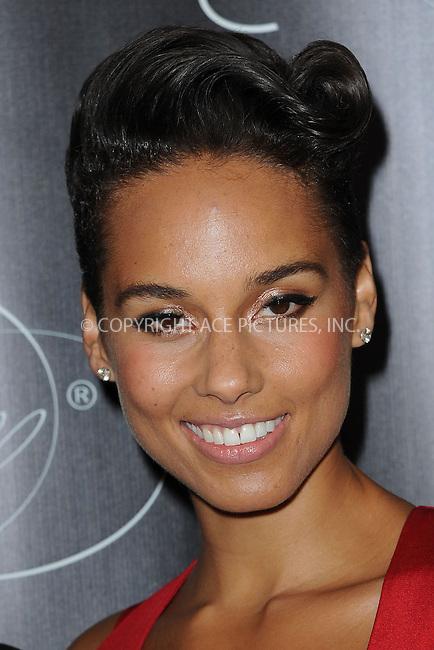 WWW.ACEPIXS.COM <br /> November 7, 2013 New York City<br /> <br /> Alicia Keys attends Keep A Child Alive's 10th Annual Black Ball at Hammerstein Ballroom on November 7, 2013 in New York City.<br /> <br /> Please byline: Kristin Callahan  <br /> <br /> ACEPIXS.COM<br /> Ace Pictures, Inc<br /> tel: (212) 243 8787 or (646) 769 0430<br /> e-mail: info@acepixs.com<br /> web: http://www.acepixs.com