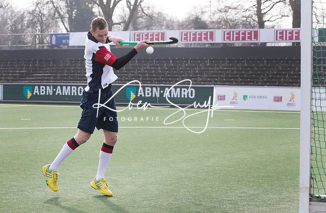 AMSTELVEEN - Hockey Academie. Mirco Pruyser van Amsterdam . FOTO KOEN SUYK