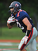 Nick LiCalzi #33 of South Side races upfield during a Nassau County Conference III varsity football game against Lynbrook at South Side High School in Rockville Centre on Thursday, Sept. 27, 2018. He scored two touchdowns in South Side's 28-13 win.