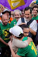 SÃO PAULO, SP, 29.09.2019 - PROTESTO-SP - Marina Silva (Rede) durante protesto contra o candidato Jair Bolsonaro do PSL à presidência do Brasil no protesto Mulheres contra Bolsonaro, no Largo da Batata, região Oeste de São Paulo neste sábado, 29. (Foto: Anderson Lira/Brazil Photo Press)