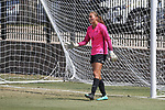 DENTON TEXAS: University of North Texas Mean Green Women's Soccer v Indiana on September 10, 2017 at North Texas Soccer Complex in Denton,TX. (Photo George Walker/Rick Yeatts Photography)