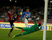 Jose Callejon  during the friendly soccer match,between SSC Napoli and Onc Nice      at  the San  Paolo   stadium in Naples  Italy , August 01, 2016<br />  during the friendly soccer match,between SSC Napoli and Onc Nice      at  the San  Paolo   stadium in Naples  Italy , August 02, 2016