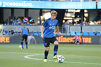 San Jose, CA - Saturday August 05, 2017: Jackson Yueill prior to a Major League Soccer (MLS) match between the San Jose Earthquakes and the Columbus Crew at Avaya Stadium.