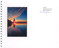 PRODUCT: Book<br /> TITLE: The Canadian Gallery<br /> CLIENT: The Canadian Gallery