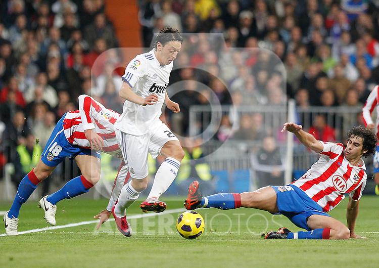 Madrid.- (07/10/10)Estadio Santiago Bernabeu..Campeonato Nacional de Liga. Mesut Ozil..Real Madrid - Atco. Madrid...©Alex Cid-Fuentes/AlfaquiFotografia