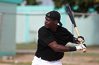 09 May 2010: Daniels Ruben is seen during a tryout for Team France, in St Maarten, Netherlands Antilles.