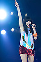 Carly Rae Jepsen, Nov 08, 2012 : Tokyo, Japan - Carly Rae Jepsen performs on the catwalk during Girls Award 2012 Autumn/Winter at the Yoyogi National Gymnasium in Shibuya, Japan. She sang ''Call Me Maybe?''. (Photo by Yumeto Yamazaki/Nippon News)
