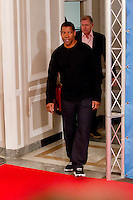 """ATENCAO EDITOR IMAGEM EMBARGADA PARA VEICULOS INTERNACIONAIS - MADRI, ESPANHA, 22 JANEIRO 2013 - PHOTOCALL THE FLIGHT -  O ator norte-americano Denzel Washington durante sessao de fotos para promover o filme """"O Voo"""" no  Villamagna Hotel em Madri capital da Espanha, nesta terça-feira, 22. (FOTO: MIGUEL CORDOBA / ALFAQUI / BRAZIL PHOTO PRESS)."""