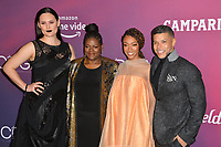 LOS ANGELES, CA. February 19, 2019: Mary Chieffo, Gersha Phillips, Sonequa Martin-Green & Wilson Cruz at the 2019 Costume Designers Guild Awards at the Beverly Hilton Hotel.<br /> Picture: Paul Smith/Featureflash