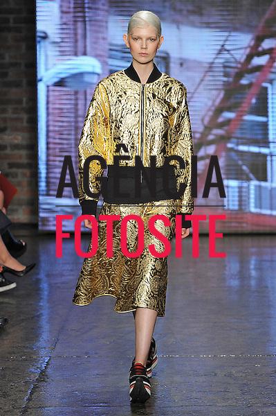 Nova Iorque, EUA &sbquo;09/2014 - Desfile de DKNY durante a Semana de moda de Nova Iorque  -  Verao 2015. <br /> <br /> Foto: FOTOSITE