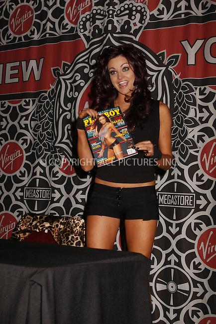 WWW.ACEPIXS.COM . . . . .  ....March 6, 2008. New York....WWE Star And Playboy Model Maria appears at her autograph signing at Virgin Megastore Times Square.......Please byline: AJ Sokalner - ACEPIXS.COM.... *** ***..Ace Pictures, Inc:  ..Philip Vaughan (646) 769 0430..e-mail: info@acepixs.com..web: http://www.acepixs.com