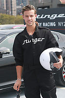NEW YORK, NY - SEPTEMBER 12: Cameron Dallas at Kia Race the Runway at  Pier 92/94 on September 12, 2017 in New York City. <br /> CAP/MPI99<br /> &copy;MPI99/Capital Pictures