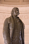 Washington DC; USA: The Thomas Jefferson Memorial, with his statue in a rotunda at the Tidal Basin.Photo copyright Lee Foster Photo # 6-washdc82705