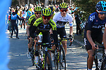 Esteban Chaves (COL) leads Simon and Adam Yates (GBR) Mitchelton-Scott near the end of Stage 4 of the Volta Ciclista a Catalunya 2019 running 150.3km from Llanars (Vall De Camprodon) to La Molina (Alp), Spain. 28th March 2019.<br /> Picture: Colin Flockton | Cyclefile<br /> <br /> <br /> All photos usage must carry mandatory copyright credit (© Cyclefile | Colin Flockton)