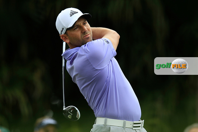 Sergio Garcia (ESP) during the 3rd round at the WGC Cadillac Championship, Blue Monster, Trump National Doral, Doral, Florida, USA<br /> Picture: Fran Caffrey / Golffile