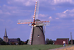 Europe, DEU, Germany, Northrhine Westphalia, Lower Rhine, Waldfeucht, Typical Windmill, Waldfeuchter Muehle ....[ For each utilisation of my images my General Terms and Conditions are mandatory. Usage only against use message and proof. Download of my General Terms and Conditions under http://www.image-box.com or ask for sending. A clearance before usage is necessary...Material is subject to royalties. Each utilisation of my images is subject to a fee in accordance to the present valid MFM-List...Contact | archive@image-box.com | www.image-box.com ]