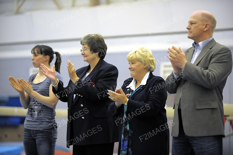 Womens Artistic Gymnastics.Level two Compulsary competition at Park Road Liverpool March 2008.<br /> Photos by Alan Edwards
