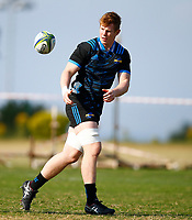 James Blackwell during the Hurricanes training session at Northwood High School in Durban, South Africa on Tuesday, 28 May 2019. Photo: Steve Haag / stevehaagsports.com