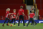 Fill Star Julia Roberts films her children playing football on the Old Trafford turf during the Premier League match at the Old Trafford Stadium, Manchester. Picture date: November 27th, 2016. Pic Simon Bellis/Sportimage