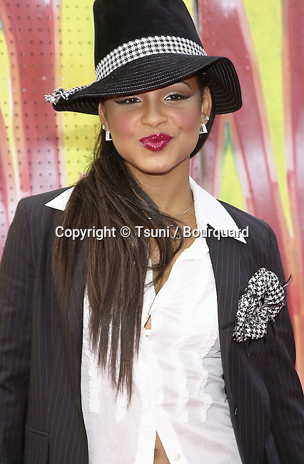 Christina Milian arriving at the 7th Annual Soul Train, Lady of Soul Awards at the Santa Monica Auditorium in Los Angeles. August 28, 2001          -            MilianChristina05.jpg