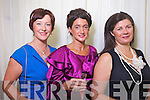 Eileen Kennedy, Mary Kelliher and Evelyn Flynn, Killorglin at the Rose of Tralee Fashion Show at the Dome on Sunday Night.