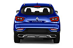 Straight rear view of 2019 Renault Kadjar Intens 5 Door SUV Rear View  stock images